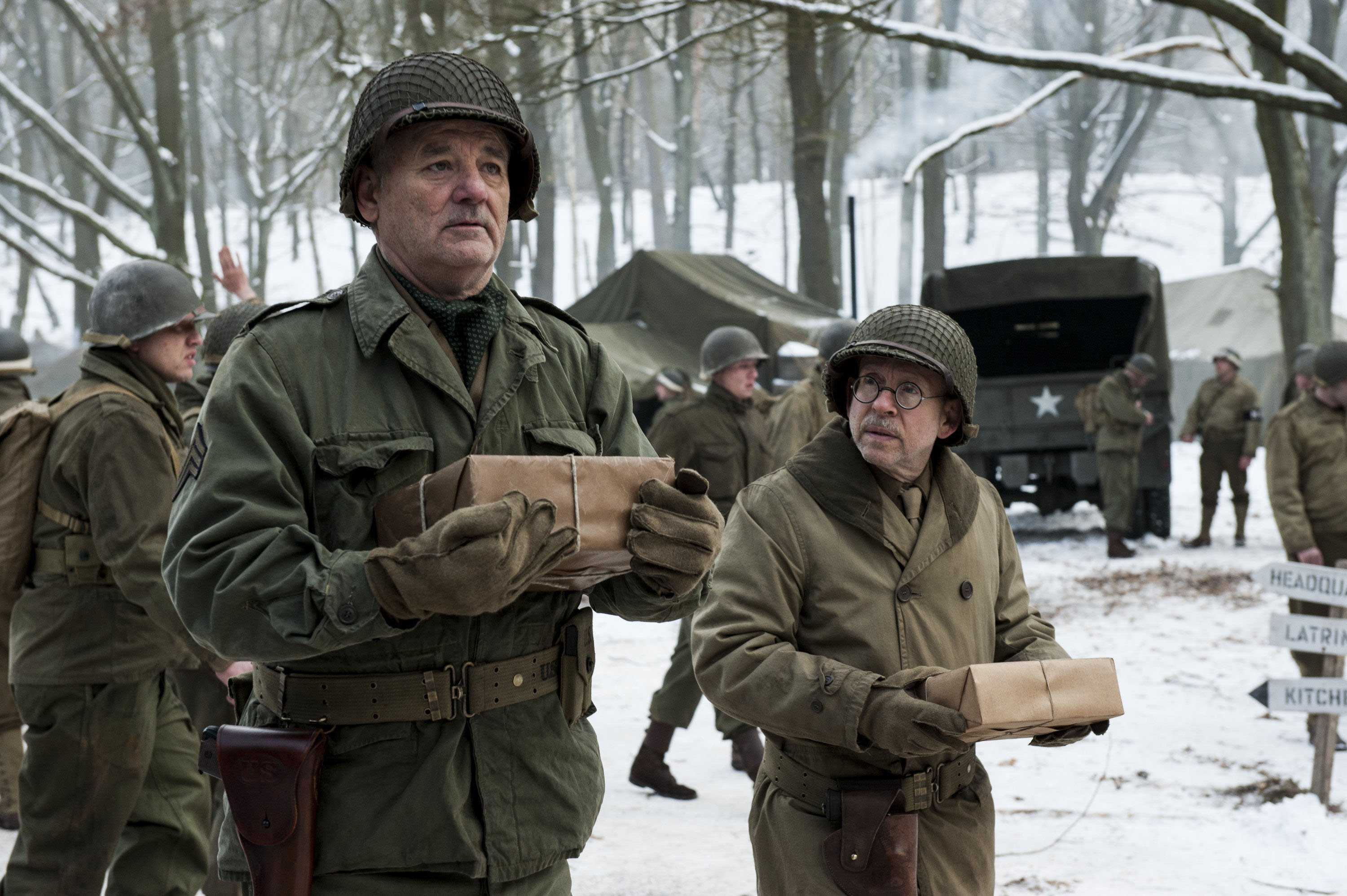 monuments men movie summary